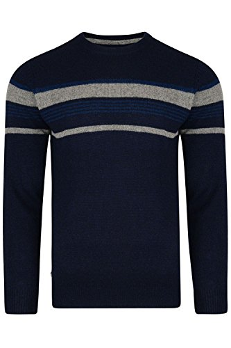 Oops Outlet Old Boys Network Barton Mens Pullover Jumper Lambswool Blend Knitwear - Barton Outlet