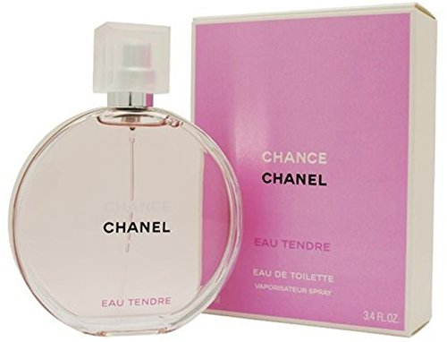 Chánce Chánel Tendre Eau de Toilette Spray for Woman, EDT 1.7 Ounces 50 ML