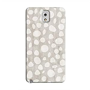 Cover It Up - Pebble Print Grey Galaxy Note 3 Hard Case