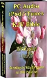PC Audio MP4 iPod/iTunes KJV Bible - 75 hours - (1) CD data disk