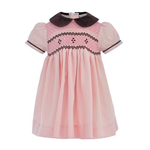 fall smocked dresses for baby - 2