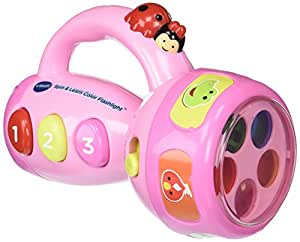 VTech Spin and Learn Color Flashlight | Gift Guide For 2 ...