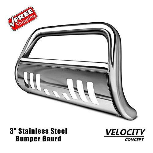 Velocity Racing Chrome Bull Bar Brush Push Bumper Grill Grille Guard 99-06 Silverado//Sierra 1500
