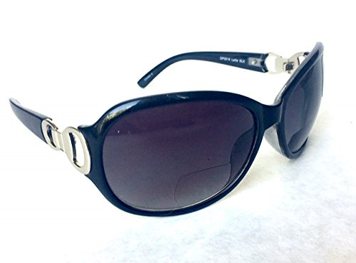 Foster Grant +2.50 Women's BIFOCAL SUNLIGHT READER Sunglasses (429) 100% UVA & UVB Protection + FREE BONUS Cleaning Cloth
