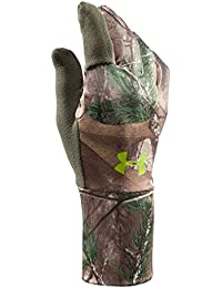 Mens UA Scent Control Gloves X-Large REALTREE AP-XTRA
