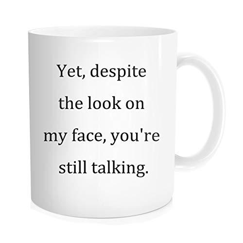 Funny Coffee Mug Inspirational Sarcasm Quote For Men