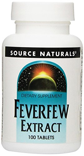 (Source Naturals Feverfew Extract, 100 Tablets)