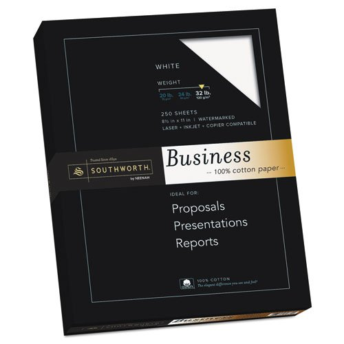 100% Cotton Business Paper (Southworth 100% Cotton Business Paper, 8.5