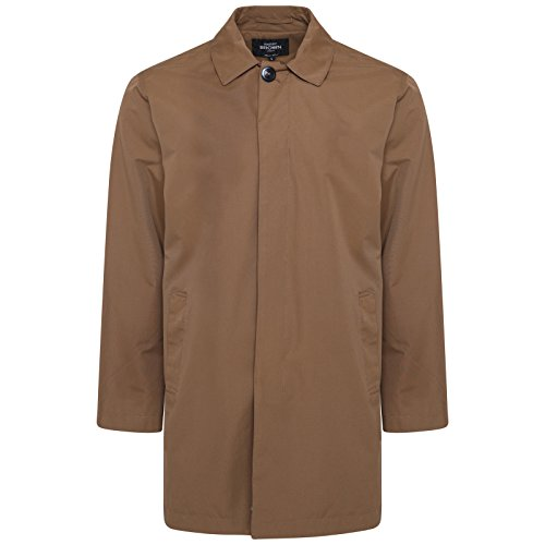 HARRY BROWN Trench Coat Single Breasted in Mud L