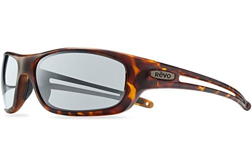 Revo Guide S Sunglasses, Dark Tortoise Frame, Graphite 63mm Lenses, part of the Serilium - Sunglasses Lens Revo Glass