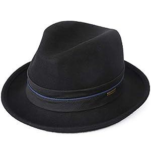 Sedancasesa Mens Felt Fedora Hat Unisex Classic Manhattan Indiana Jones Hats