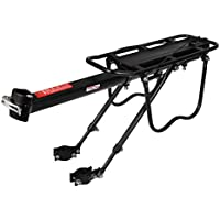 Arltb Aluminum Alloy Bike Carrier Rack Adjustable 110 Lbs...