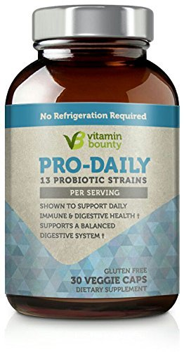 Vitamin Bounty - Pro Daily Probiotic - 13 Probiotic Strains, Delayed Release Capsules