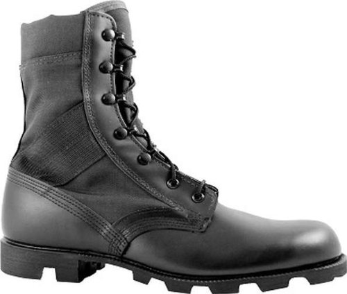 Jungle Vulcanized Boot - McRae Footwear Men's Hot Weather Jungle Boot 9189,Black,US 12 R
