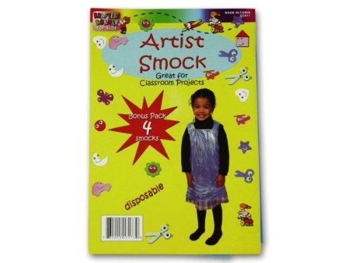 Disposable children&-039;s artist smock - Pack of 96