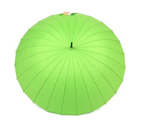memberr 24 Bony Large Wind Resistance Straight Umbrella Long Handle Sunny Umbrella - Th American Sniper