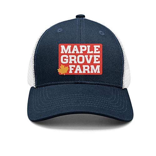 Unisex Outdoor Cap Dad Casual-Maple-Grove-Farms-Snapback Golf Hat Professional