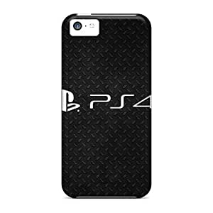 New Premium Saraumes Playstation 4 Logo Skin Excellent Fitted Case For HTC One M7 Cover