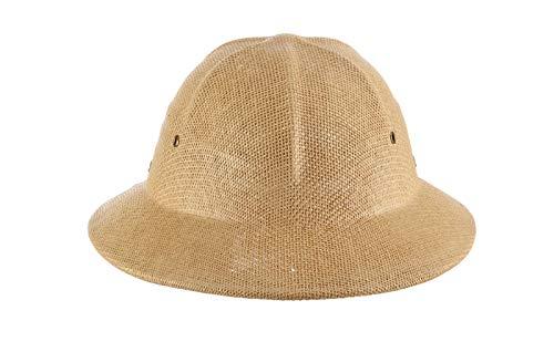 Straw Pith Helmet (DPC Global Trends Men's Fine Twisted Toyo Pith Helmet, Tan, One)
