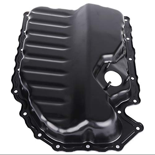 cciyu 264-713 Engine Oil Pan Drain Plug Kit fit for Audi A3 Quattro TT VW Beetle CC Eos Golf Jetta Passat L4 2.0L 08 09 10 11 12 13 Cummins Diesel ()