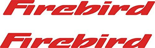- Pontiac Firebird Door Handle Decals (Red)