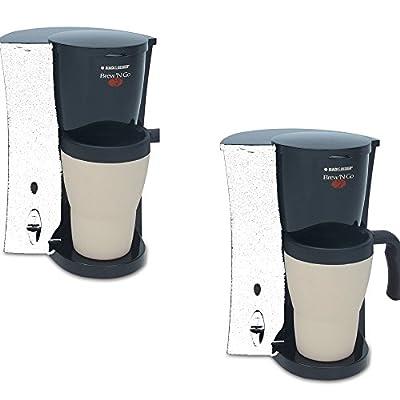 BLACK & DECKERBlack Single-Serve Coffee Maker - BLACK & DECKER Model - DCM18 - Set of 2 Gift Bundle