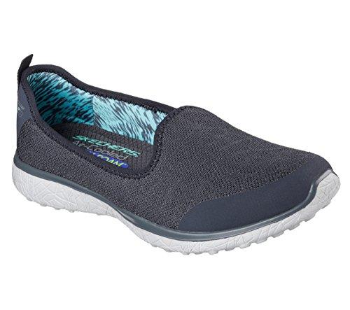 Skechers Sportvrouwen Microburst Its My Life Fashion Sneaker Houtskool