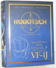 Robotech Macross Masterpiece Collection Super Veritech Armor Appendix Set B for Max Sterling's (Robotech Masterpiece)