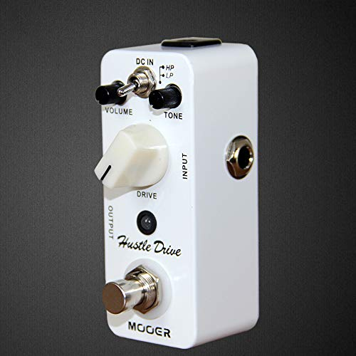 Hustle Drive Distortion Pedal Analog tube effect 2 Working Modes: HP/LP Guitar effect pedal