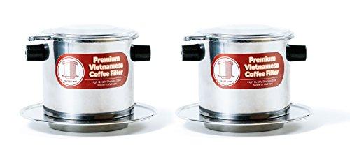 2 x Stainless Steel Vietnamese Coffee