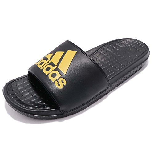 Adidas Heren Voloomix, Zwart / Geel, 11,5 M Ons