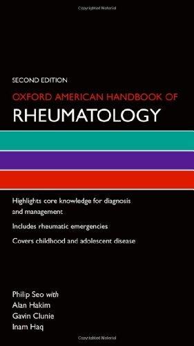By Philip Seo Oxford American Handbook of Rheumatology (Oxford American Handbooks) (2nd Second Edition) [Paperback] pdf epub