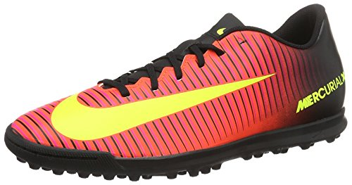 Boots volt Nike Football Mercurialx Tf pink Blast 's Men Crimson Iii Red total Vortex black rgW0PZqwg