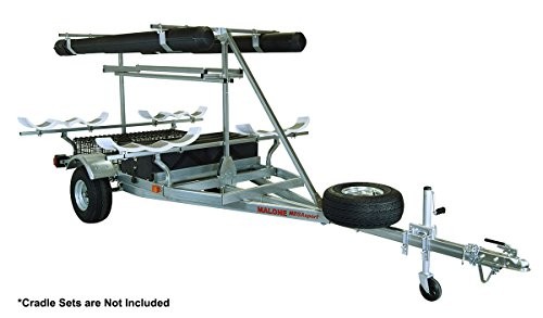 Malone Auto Racks 2 boat ultimate angler trailer package - Hobie PA
