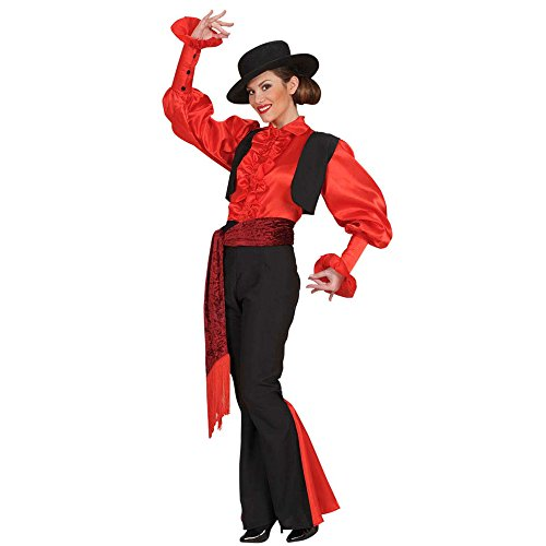 Ladies Spaniard Woman Costume Extra Large Uk 18-20 For Spanish Spain Fancy Dress
