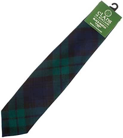 Clans Of Scotland Men's Scottish Tartan Clan Tie