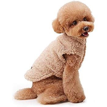 Amazon.com : My Fluffy Dog Apparel Fulffy Warm Jacket for