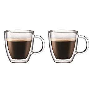Amazon Com Bodum Bistro Coffee Mug Double Wall