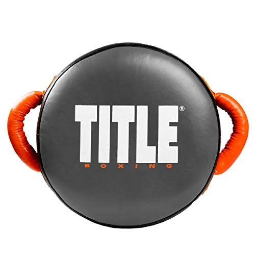 (Title Boxing Ionic Strike Punch Shield, Grey/Orange)
