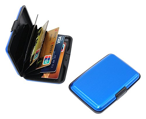 Bank Credit Card Case Anti-theft brush Anti - scanning Anti - magnetic RFID Ultra-thin Portable Credit Card Holder 12Pcs by XY WOOD