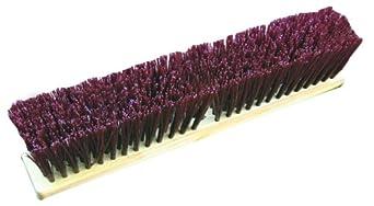 Zephyr 39408 Duro/Strand Red Poly Block Push Broom