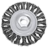 Century Drill 76049 Angle Grinder Wire Wheel 4'' Dia. Steel Knot