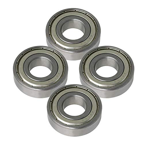 4x13x6 mm V Groove Bearing 10PCS 4136MM V Groove Guide Pulley Rail Ball Bearings Wheel Suitable for Working on Track or Linear Motion Systems