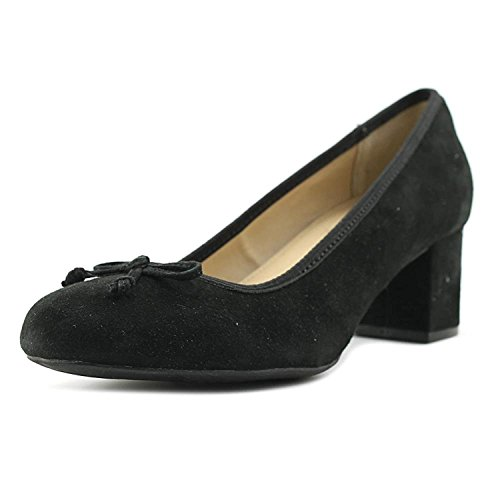 Me Kid Frauen Black Pumps Suede Too rxfIZrwU