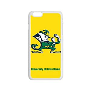 NCAA Notre Dame Fighting Irish Logo Cell Phone Case for Iphone 6