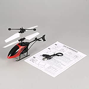 loonBonnie D715 Flying Mini Infrarrojo RC Helicóptero Drone ...