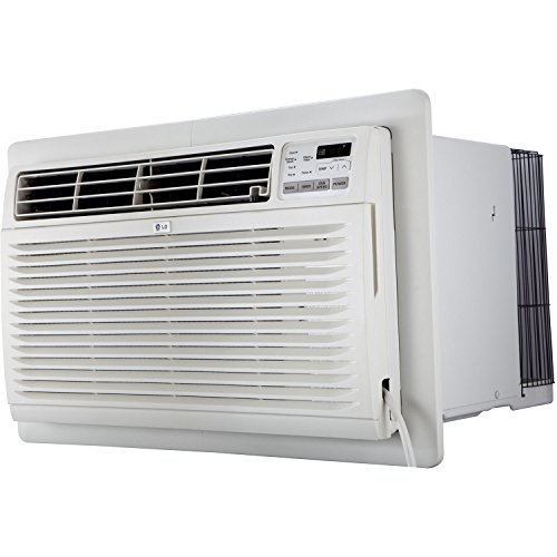 (LG LT1216CER 11,800 BTU 115V Through-the-Wall Air Conditioner with Remote Control)
