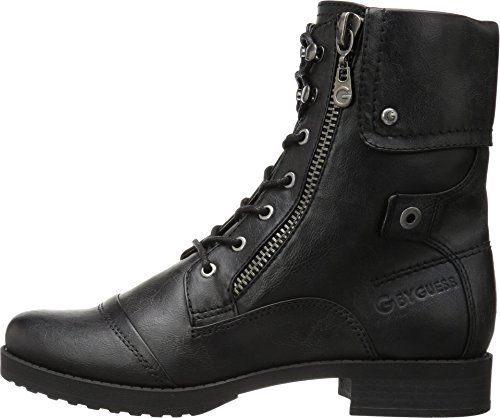 G by Guess Womens WALKER Closed Toe Ankle Combat Boots