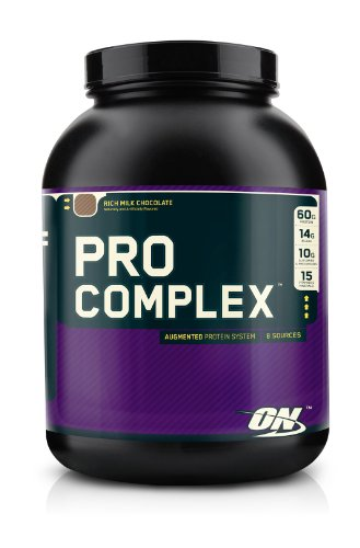 Optimum Nutrition Pro Complex, Rich Milk Chocolate, 4.6 Pound