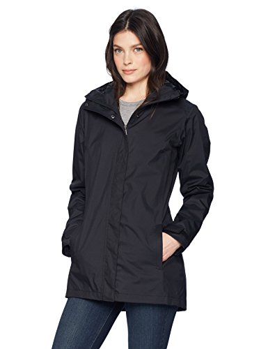 Columbia Women's Splash A Little Ii Waterproof Rain Jacket, Black, Small